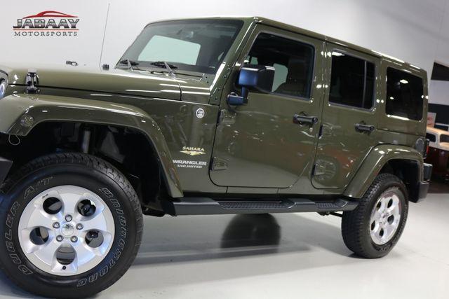 2015 Jeep Wrangler Unlimited Sahara Merrillville, Indiana 27