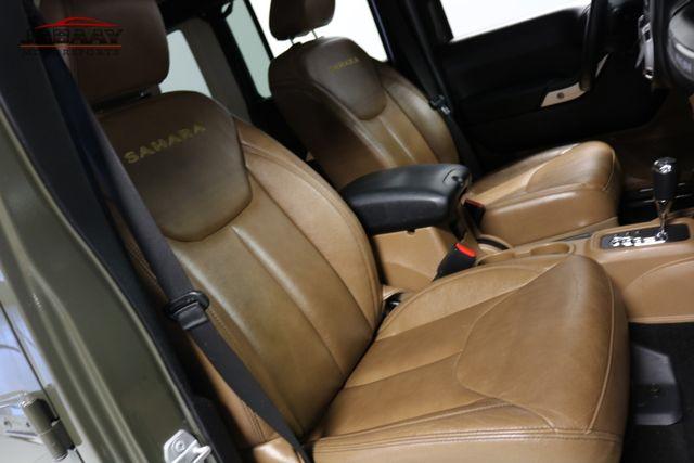 2015 Jeep Wrangler Unlimited Sahara Merrillville, Indiana 14