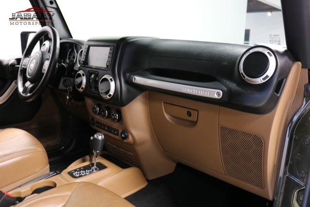2015 Jeep Wrangler Unlimited Sahara Merrillville, Indiana 16