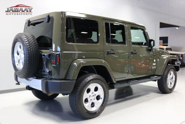2015 Jeep Wrangler Unlimited Sahara Merrillville, Indiana 4