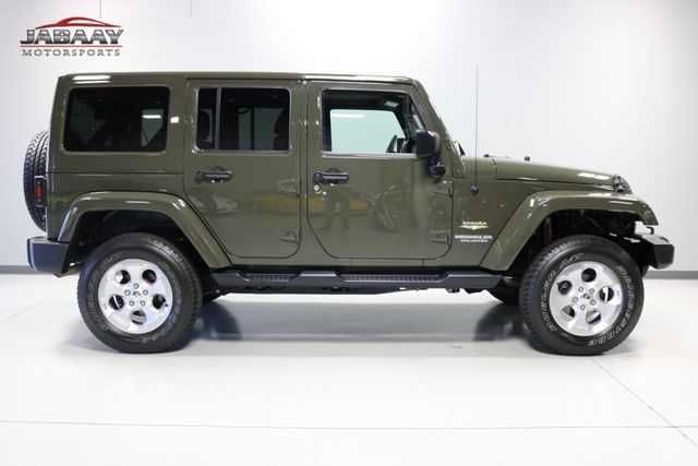 2015 Jeep Wrangler Unlimited Sahara Merrillville, Indiana 5