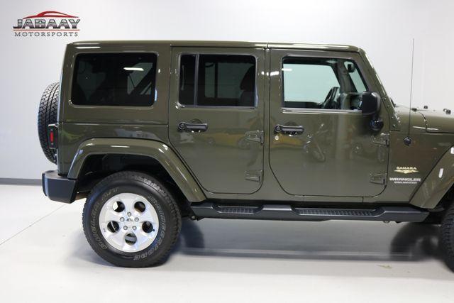 2015 Jeep Wrangler Unlimited Sahara Merrillville, Indiana 34