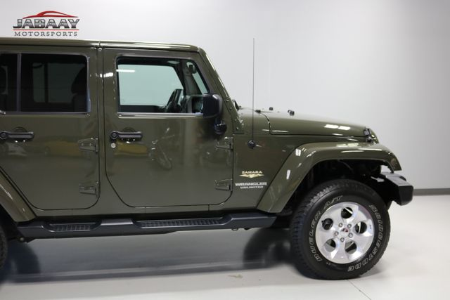 2015 Jeep Wrangler Unlimited Sahara Merrillville, Indiana 35