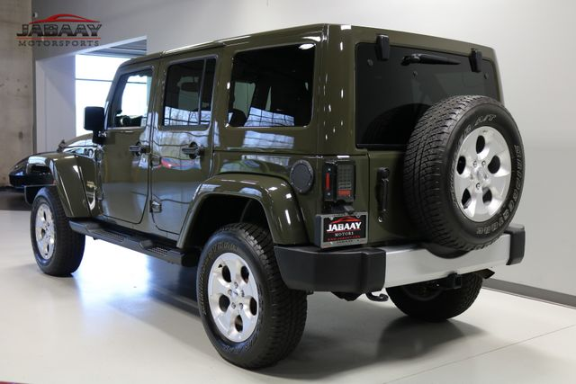 2015 Jeep Wrangler Unlimited Sahara Merrillville, Indiana 2