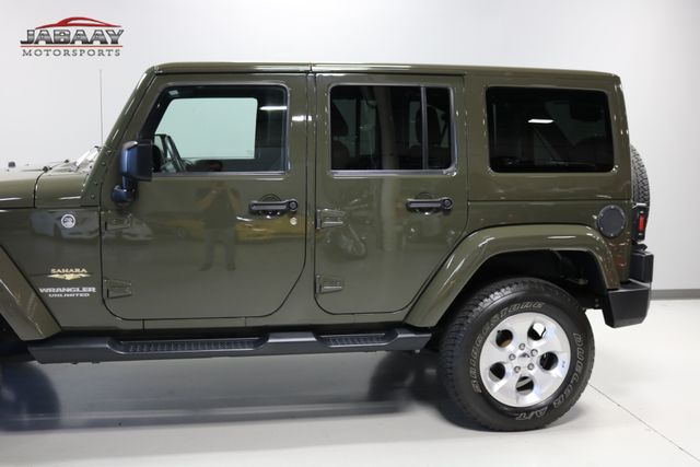 2015 Jeep Wrangler Unlimited Sahara Merrillville, Indiana 29