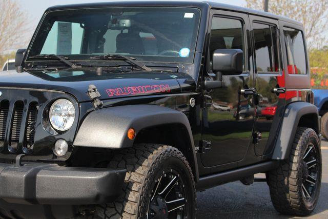 2015 Jeep Wrangler Unlimited Rubicon 4x4- NAV- HEATED LEATHER- CUSTOM WHEELS! Mooresville , NC 27