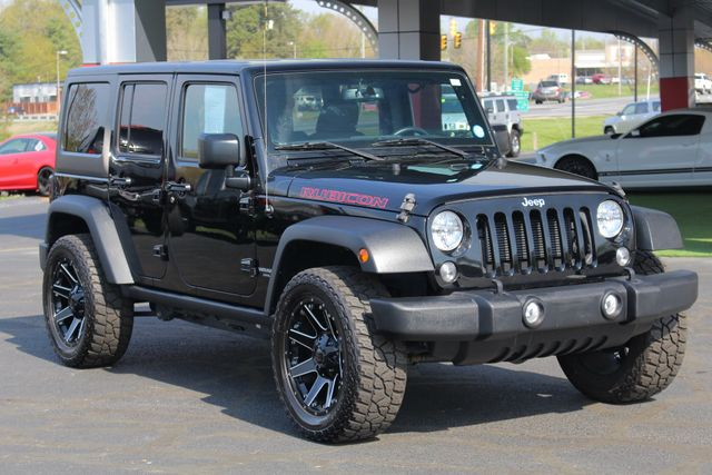 2015 Jeep Wrangler Unlimited Rubicon 4x4- NAV- HEATED LEATHER- CUSTOM WHEELS! Mooresville , NC 24