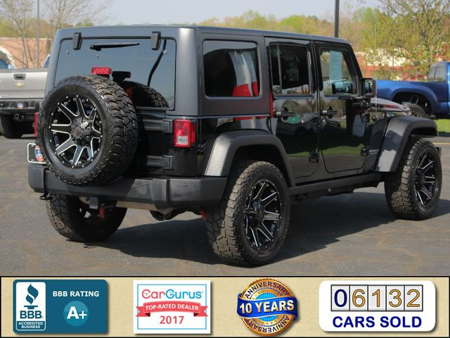 2015 Jeep Wrangler Unlimited Rubicon 4x4- NAV- HEATED LEATHER- CUSTOM WHEELS! Mooresville , NC 2