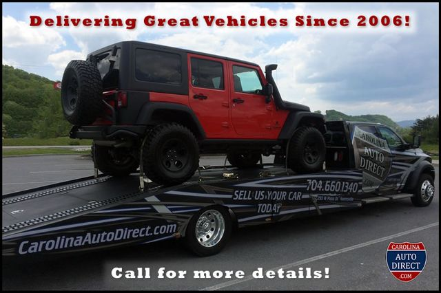 2015 Jeep Wrangler Unlimited Rubicon 4x4- NAV- HEATED LEATHER- CUSTOM WHEELS! Mooresville , NC 23