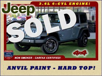2015 Jeep Wrangler Unlimited Sport 4X4 - ANVIL PAINT - BLACK 3-PIECE HARD TOP Mooresville , NC