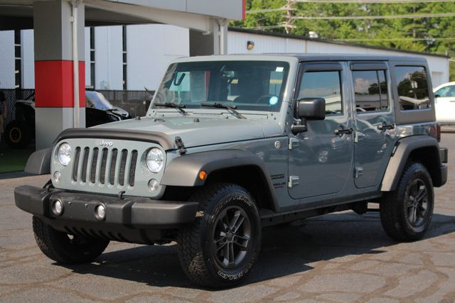 2015 Jeep Wrangler Unlimited Sport 4X4 - ANVIL PAINT - BLACK 3-PIECE HARD TOP Mooresville , NC 21