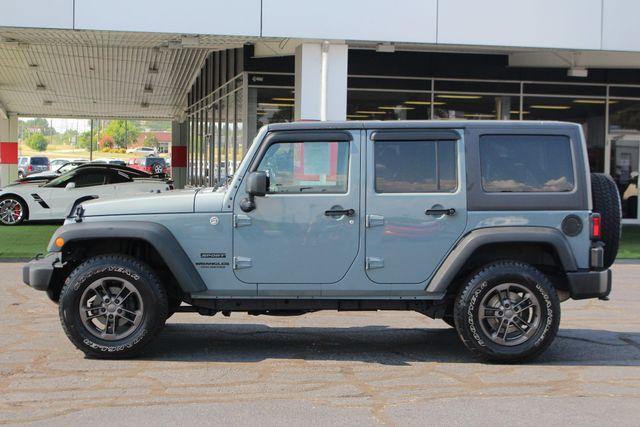 2015 Jeep Wrangler Unlimited Sport 4X4 - ANVIL PAINT - BLACK 3-PIECE HARD TOP Mooresville , NC 14