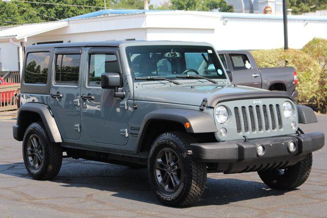 2015 Jeep Wrangler Unlimited Sport 4X4 - ANVIL PAINT - BLACK 3-PIECE HARD TOP Mooresville , NC 20