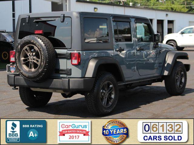 2015 Jeep Wrangler Unlimited Sport 4X4 - ANVIL PAINT - BLACK 3-PIECE HARD TOP Mooresville , NC 2
