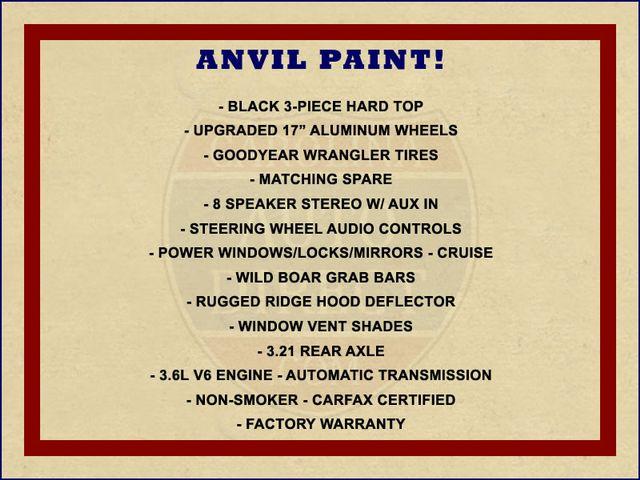 2015 Jeep Wrangler Unlimited Sport 4X4 - ANVIL PAINT - BLACK 3-PIECE HARD TOP Mooresville , NC 1