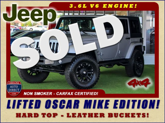 2015 Jeep Wrangler Unlimited Freedom Edition 4X4 - LIFTED OSCAR MIKE EDITION! Mooresville , NC