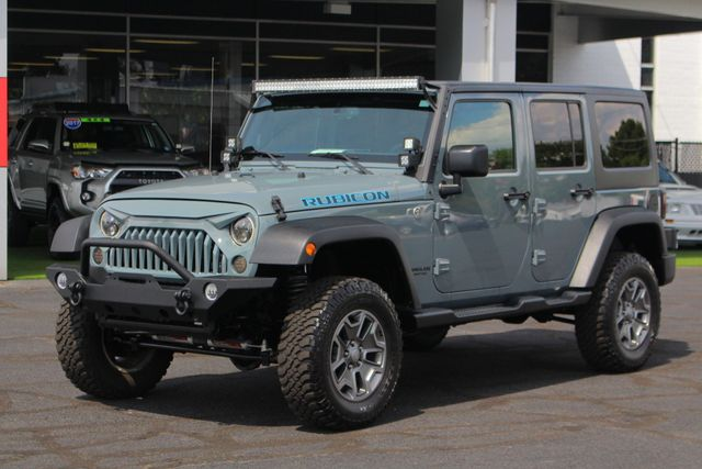 2015 Jeep Wrangler Unlimited Rubicon 4x4 - LIFTED - NAV - LOT$ OF EXTRA$! Mooresville , NC 25
