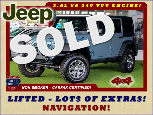 2015 Jeep Wrangler Unlimited Rubicon 4x4 - LIFTED - NAV - LOT$ OF EXTRA$! Mooresville , NC