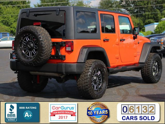 2015 Jeep Wrangler Unlimited Sport 4X4- LIFTED - LOTS OF EXTRA$! Mooresville , NC 2