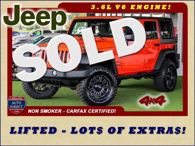 2015 Jeep Wrangler Unlimited Sport 4X4- LIFTED - LOTS OF EXTRA$! Mooresville , NC
