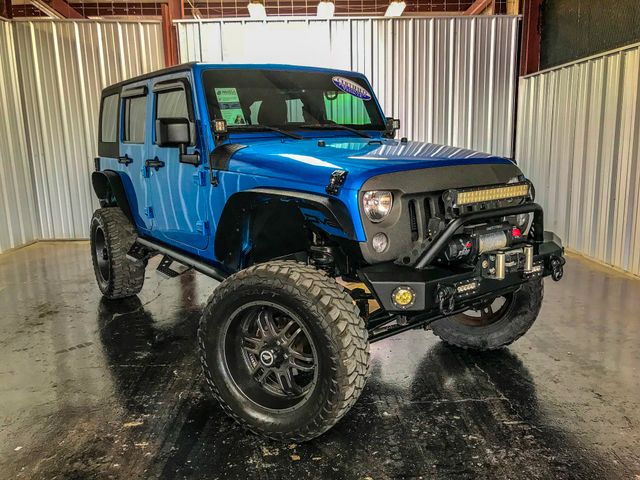 2015 Jeep Wrangler Unlimited LIFTED Sport