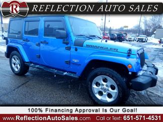 2015 Jeep Wrangler Unlimited Sahara in Oakdale, Minnesota 55128