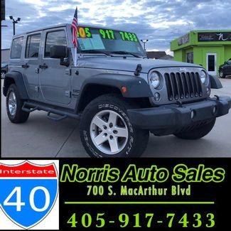 2015 Jeep Wrangler Unlimited Sport | Oklahoma City, OK | Norris Auto Sales (I-40) in Oklahoma City OK