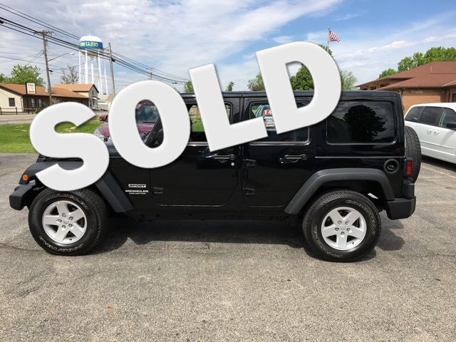 2015 Jeep Wrangler Unlimited Sport 4X4 Ontario, OH
