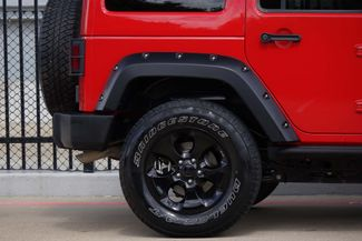 2015 Jeep Wrangler Unlimited Altitude * NAV * Leather * HARD TOP * Alpine Audio Plano, Texas 28