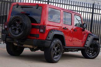 2015 Jeep Wrangler Unlimited Altitude * NAV * Leather * HARD TOP * Alpine Audio Plano, Texas 4