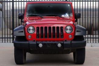 2015 Jeep Wrangler Unlimited Altitude * NAV * Leather * HARD TOP * Alpine Audio Plano, Texas 6