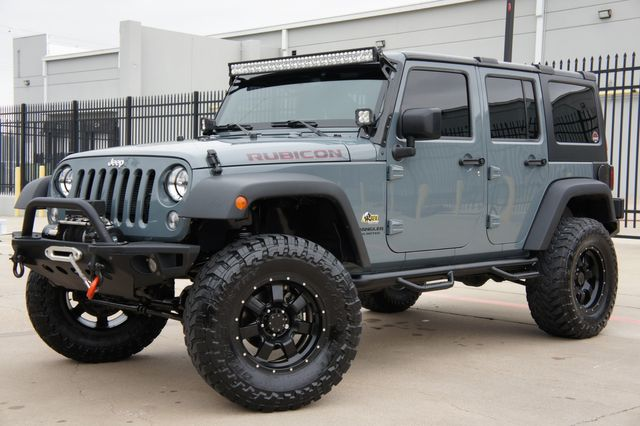 2015 Jeep Wrangler Unlimited Rubicon * AEV LIFT * Navi * 35s * Leather * LED's in Missoula, MT 59804