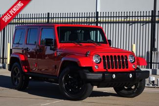 2015 Jeep Wrangler Unlimited Altitude*Hard Top* Auto*4x4* Nav* EZ Finance** | Plano, TX | Carrick's Autos in Plano TX