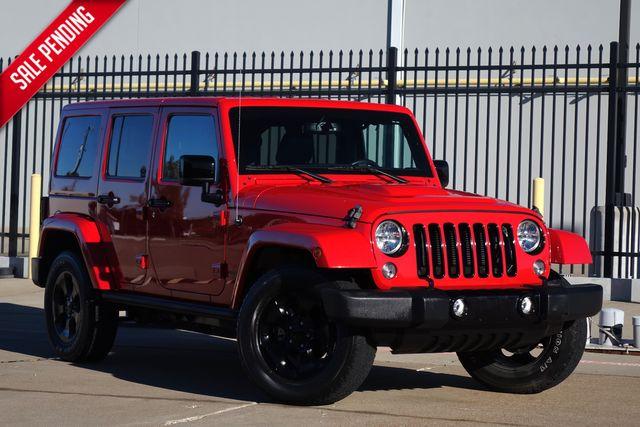 2015 Jeep Wrangler Unlimited Altitude*Hard Top* Auto*4x4* Nav* EZ Finance** | Plano, TX | Carrick's Autos in Plano TX