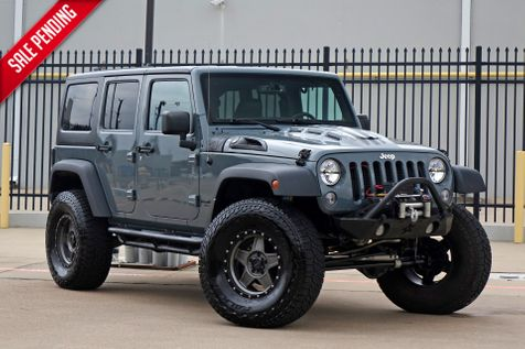 2015 Jeep Wrangler Unlimited Rubicon* Lifted* Custom* Hard Top* Leather***   Plano, TX   Carrick's Autos in Plano, TX