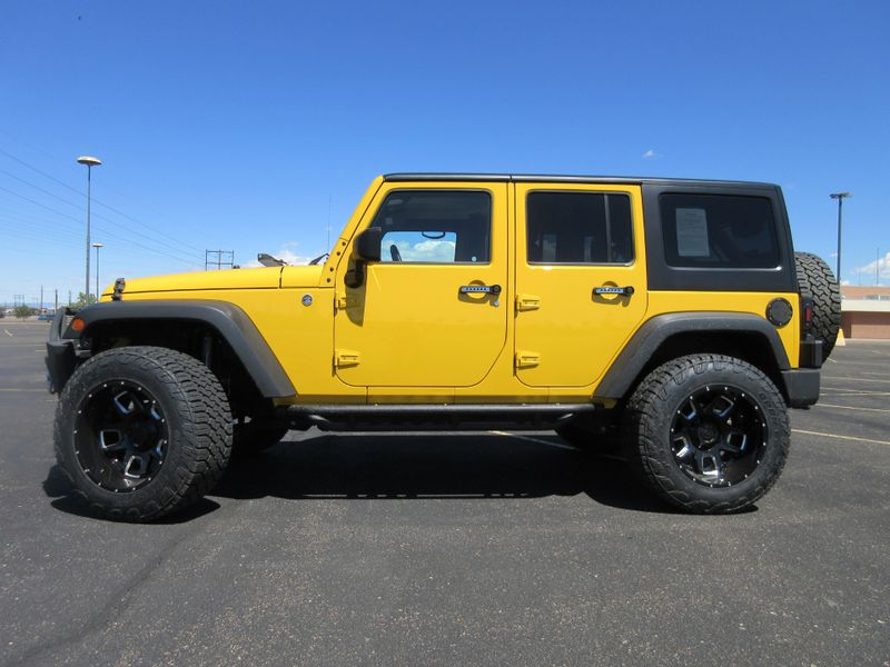 2015 Jeep Wrangler Unlimited 4X4 Sport  Fultons Used Cars Inc  in , Colorado