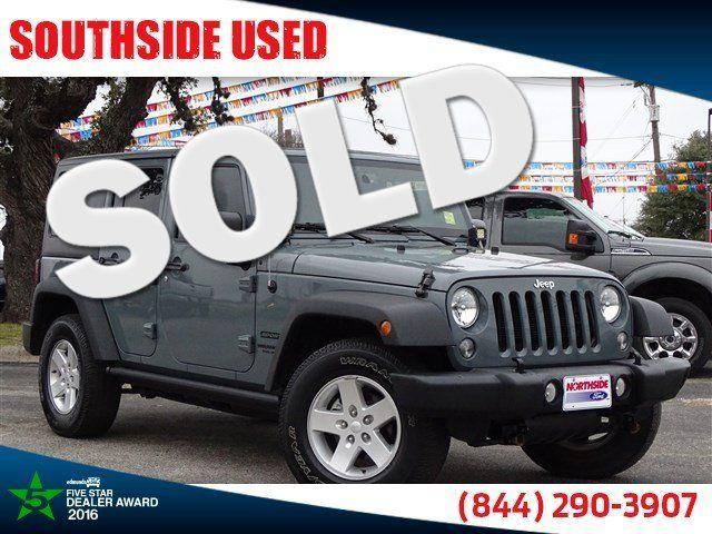 2015 Jeep Wrangler Unlimited Sport | San Antonio, TX | Southside Used in San Antonio TX