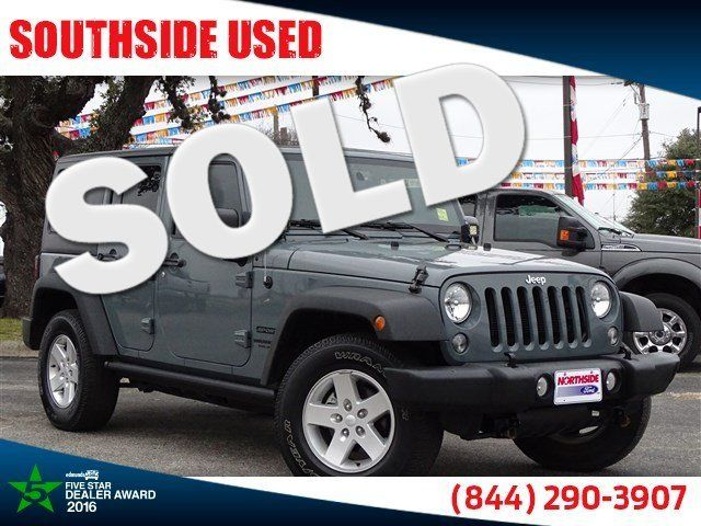 2015 Jeep Wrangler Unlimited Sport | San Antonio, TX | Southside Used in San Antonio TX