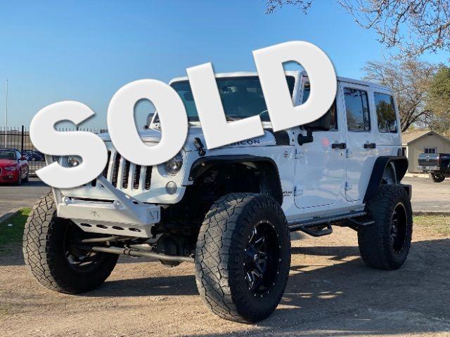 2015 Jeep Wrangler Unlimited Rubicon in San Antonio, TX 78233