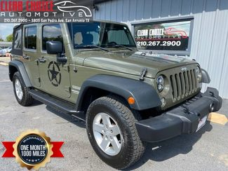 2015 Jeep Wrangler Unlimited Sport in San Antonio, TX 78212