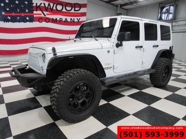 2015 Jeep Wrangler Unlimited Sahara 4x4 Auto Hardtop Lifted New Tires Black 20s in Searcy, AR 72143