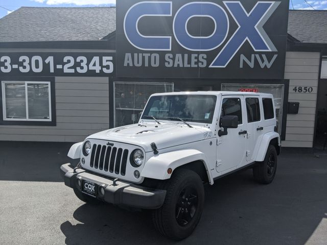 2015 Jeep Wrangler Unlimited X