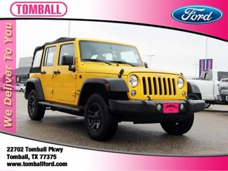 2015 Jeep Wrangler Unlimited Sport in Tomball, TX 77375
