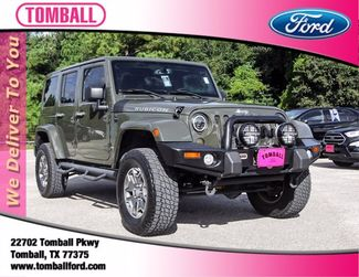 2015 Jeep Wrangler Unlimited Rubicon in Tomball, TX 77375