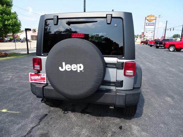 2015 Jeep Wrangler Unlimited Sport Valparaiso, Indiana 4