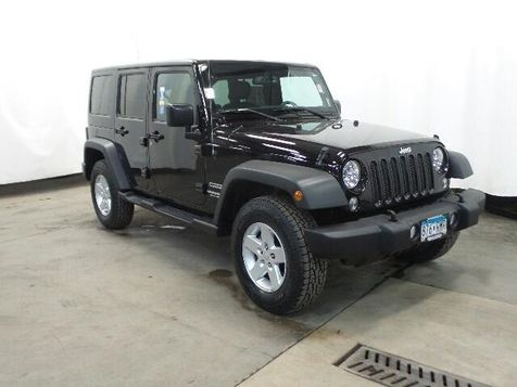 2015 Jeep Wrangler Unlimited Sport in Victoria, MN