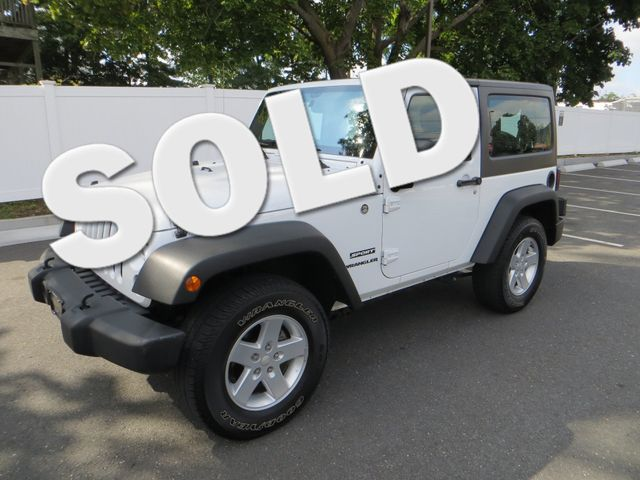 2015 Jeep Wrangler Sport Watertown, Massachusetts