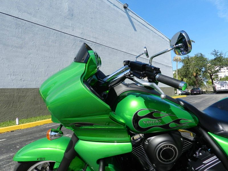 2015 Kawasaki Vulcan 1700 Vaquero  ABS 1700 Vaquero LOW MILES  30 Day Warranty  city Florida  MC Cycles  in Hollywood, Florida