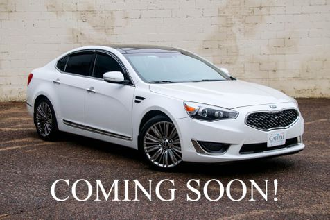 2015 Kia Cadenza Limited w/360° Surround View Cam, Nav,  Panoramic Roof, Heated&Cooled Seats, Xenon Lights in Eau Claire