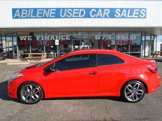 2015 Kia Forte Koup SX  Abilene TX  Abilene Used Car Sales  in Abilene, TX